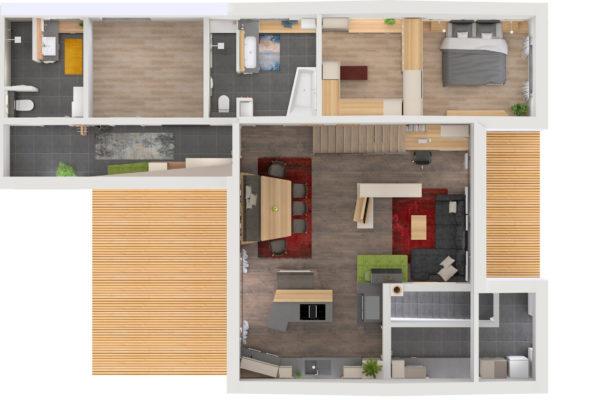 raumplanung_bungalow_gesamtprojekt_woel.pra_grundriss_tischlerei_innenarchitektur_wagenleitner_senftenbach